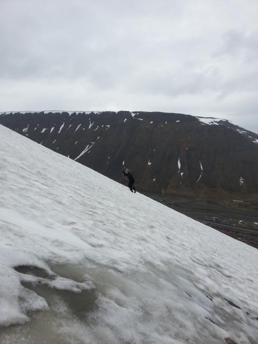Sommer i Longyearbyen